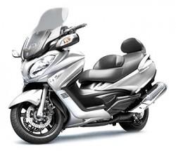 Location scooter Burgman 650 sur Lyon