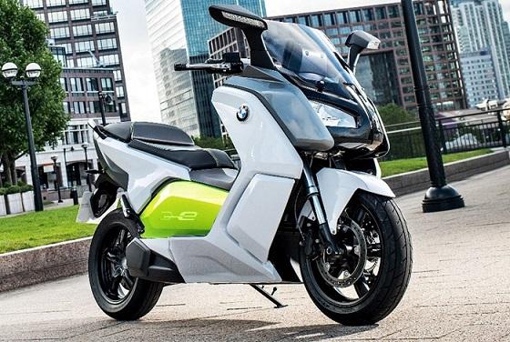 BMW_C Evolution : Scooter électrique