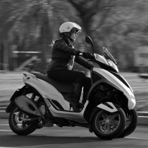 Le scooter en ville