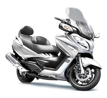 Location scooter longue durée - Burgman 650