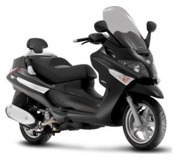 location scooter paris Piaggio Xevo