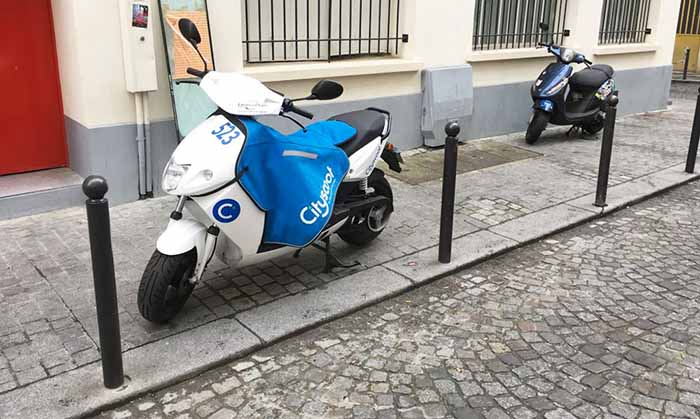 location de scooter ou free floating paris